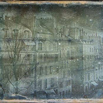 A daguerreotype by Daguerre at  Niépce House
