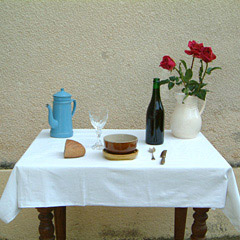 "2004: ""La Table Servie"" (""the set table"") by Nicéphore Niépce"