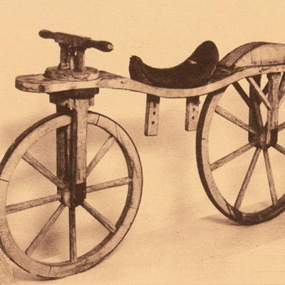 2005: The Reconstruction of Nicéphore Niépce's Velocipede