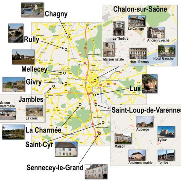 Découverte de la Bourgogne par la Route de la photo