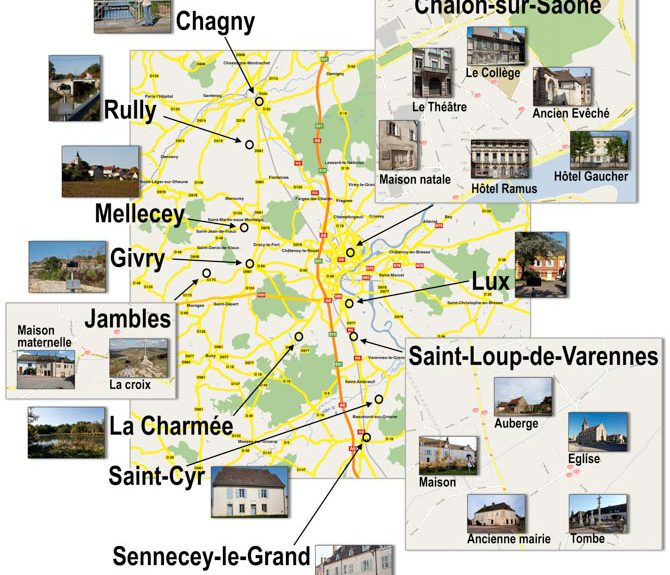 "Discover Burgundy via the ""Route de la photo"""
